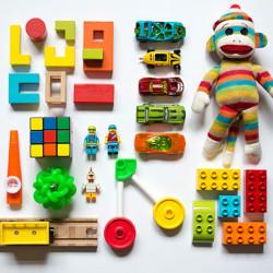 Crianças desapegadas e organizadas