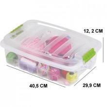 Caixa Gran Box Baixa 9,3L- Brinquedos, Artesanato - Plasutil - 2891