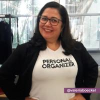 Camiseta Personal Organizer B.Look Branca com Preto Tam GG