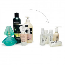 Etiqueta Necessarie - Kit Viagem Higiene Pessoal - Loladecor - Unik For You