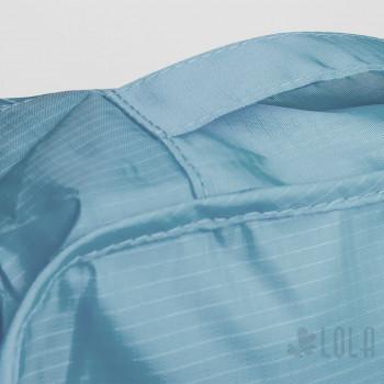 Organizador de Mala - Kit com 7 peças - Azul Medio - Loladecor Artigos e Decorações