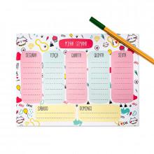 Planner Semanal Gatos - 24 folhas - Loladecor Artigos e Decorações